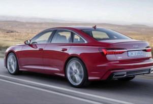 Leaked 2019 Audi A6 image