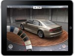 Audi A8 Experience app for iPad