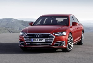 2019 Audi A8 to offer plug-in hybrid version; 48-volt mild hybrid on all models
