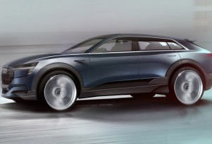 Tesla-Targeting Audi e-tron quattro Electric SUV Concept Teased Ahead Of Frankfurt