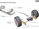 Audi regenerative shock absorber recaptures energy