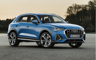 2019 Audi Q3 revealed: flagship style, bite-size dimensions