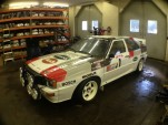Audi Quattro (A2) Group B rally car