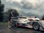 Audi R18 commercial