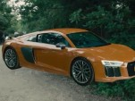 Audi R8 computer-generated imagery for 'Avengers: Age of Ultron'
