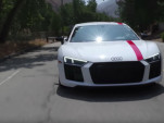Audi R8 RWS on Jay Leno's Garage