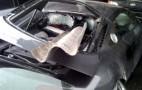 Audi R8 Impaled On Guardrail, Driver Survives