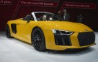 2017 Audi R8 V10 Spyder priced from $176,350, V-10 soundtrack standard