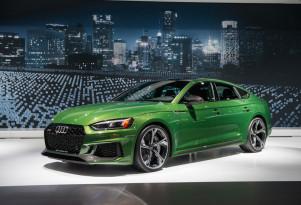 2019 Audi RS 5 Sportback, 2018 New York auto show