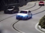 Audi slot cars for the Quattro Experience