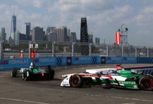 Audi Sport ABT Schaeffler at the 2017/2018 Formula E New York ePrix