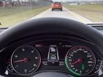 Audi Traffic Jam Assistant in action
