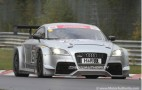 Audi TT RS Race Car Debuts, Hits The Track