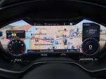 Audi virtual cockpit (reconfigurable display)  -  2016 Audi TT