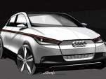 Audi A2 Concept Electric Car Due At 2011 Frankfurt Auto Show