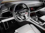 Audi Q8 Sport concept equipped with Android infotainment system