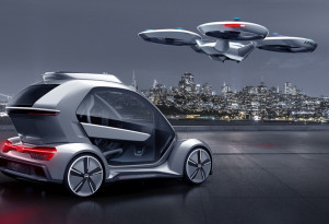 Germany plans to test Audi-Airbus flying taxi
