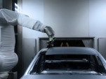 Audi contrasting paintwork process