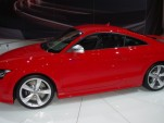 Audi's TT RS at the Chicago Auto Show