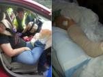Audra Tatum's car accident, via Audra Tatum
