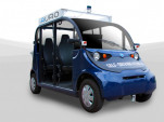 Auro electric self-driving shuttle
