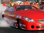 Aussies go drag racing in a Toyota Camry
