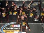 Austin Dillon celebrates his title - NASCAR photo