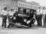 Automobile accident, Washington, D.C., 1923