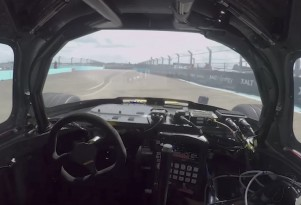 Autonomous race car laps Berlin ePrix