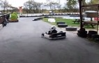 Awesome Kid Parks Go Kart Awesomely: Video