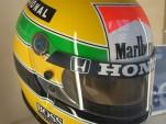 Ayrton Senna's helmet livery