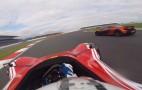 Watch A BAC Mono Chase A McLaren P1 At Silverstone: David & Goliath