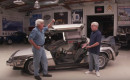 """Back to the Future"" DeLorean time machine replica at Jay Leno's Garage"