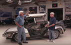 """Back to the Future"" creator brings DeLorean time machine to Jay Leno's Garage"