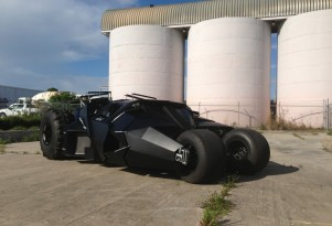 Batman Tumbler replica.