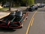 Batmobiles on parade