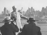 Battista Pininfarina during visit to New York City