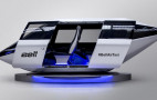 Bell Helicopter debuts futuristic air taxi at CES