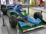 Benetton B194 1994 F1 car. Image by Flominator, licensed under GFDL.