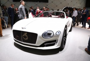 All-electric Bentley convertible concept shown at Geneva