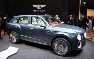 Bentley Boggles With Geneva Show Concept SUV