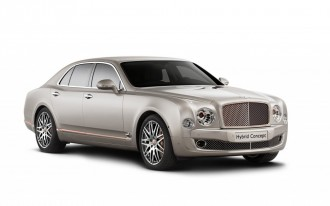 2017 Bentley SUV Will Offer Plug-In Hybrid Option