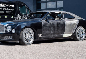 Bentley Mulsanne coupe by Mcchip-DKR