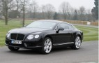 Bentley Continental GT V8 Practices For Goodwood Hillclimb