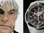 Bernie Ecclestone's bruised face featured in Hublot ad
