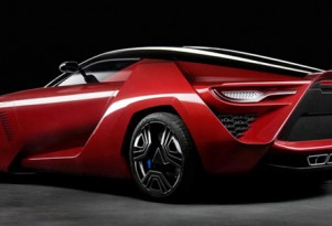 Bertone Project M supercar Mantide