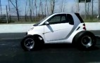 Big Block Smart Car Pulls Wheelies, Sounds Like The Apocalypse