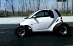 Big Block Smart Car Pulls Wheelies, Sounds Like The Apocalypse