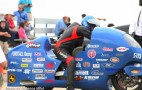 Land-Speed-Record Motorcyclist Bill Warner Survives 238-MPH Crash