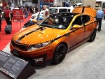 Blake Griffin 2012 Kia Optima at SEMA 2011